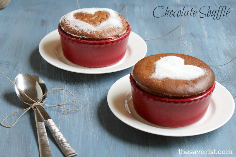 Easy No-Fail Chocolate Souffle Recipe |Chocolate Souffles | Desserts | #Chocolate  #Recipe