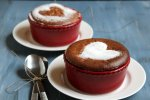 Easy No-Fail Chocolate Souffle Recipe at www.thesavorist.com |Chocolate Souffles | Desserts | #Chocolate  #Recipe